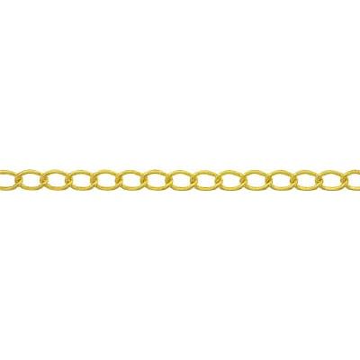 ニッサチェイン:ニッサチェイン 真鍮キリンスマンテルチェイン 2.6mm×30m BM126 型式:BM126