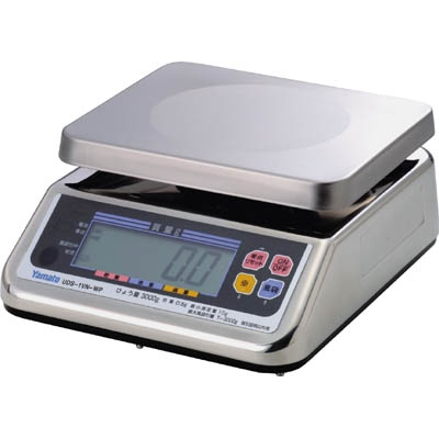 大和製衡:ヤマト 完全防水形デジタル上皿自動はかり UDS-1VN-WP-6 6kg UDS-1VN-WP-6 型式:UDS-1VN-WP-6