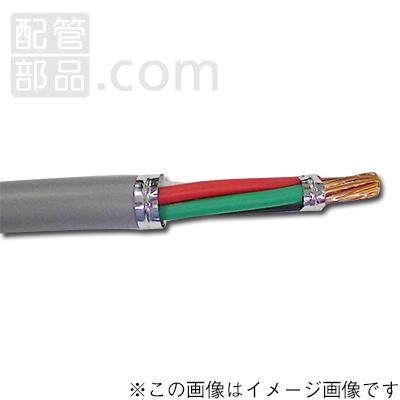 テイコク:ビニルキャブタイヤ丸型コード 型式:VCTF4c×2sq 100m