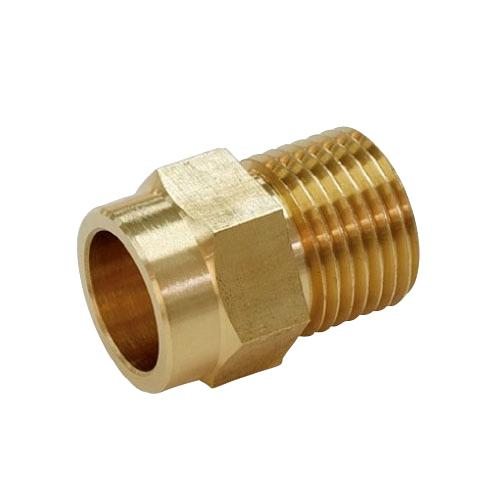 給水給湯用配管器具 通信販売 現金特価 循環金具 接続部品 リビラック ブライト 型式:FCU20 :フレキ接続銅管アダプター