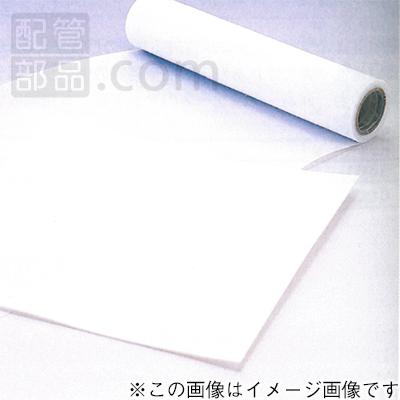 国内調達品:テフロンシート 幅500×500mm 型式:6326-14