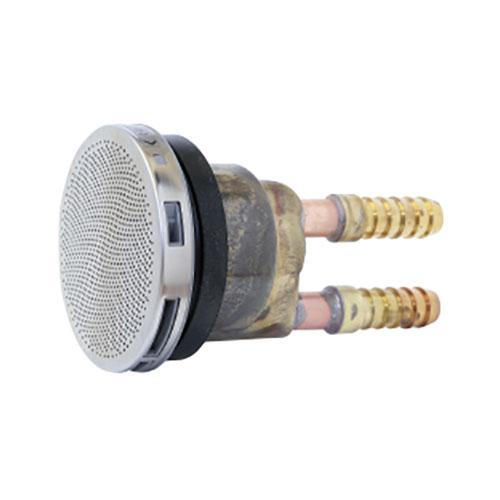 送料0円 商品追加値下げ在庫復活 給水給湯用配管器具 循環金具 接続部品 リビラック :循環金具ペア用S型 ブライト 型式:BAL-13HS