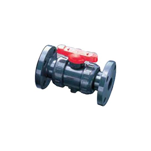 旭有機材工業:21型・21α型 ボディ(U-PVC) フランジ形 型式:V2ALVUVF5032