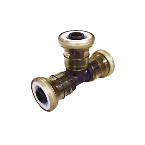 大注目 給水給湯用配管器具 架橋ポリエチレン管 継手 安売り 架橋ポリエチレン管継手 兼用 型式:JOQ2-T-13A JFE継手:チー