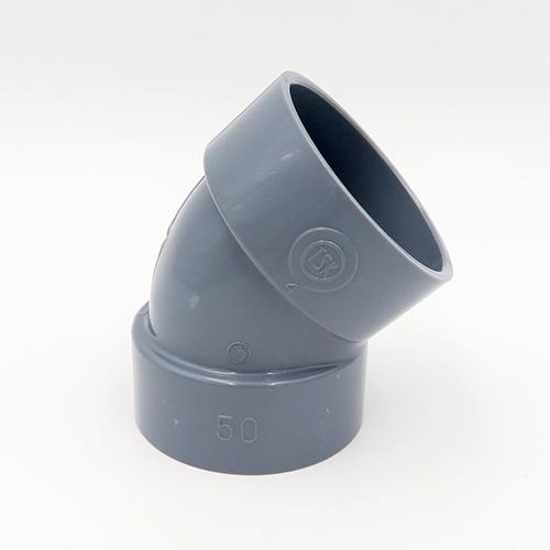 塩ビ製品 塩ビ継手 限定タイムセール フランジ 人気 DV VU継手 型式:DV-45L_65 45°エルボ 排水用 東栄管機:DV継手