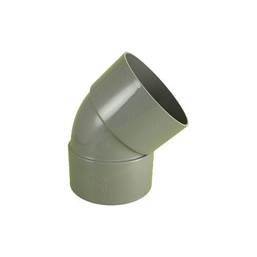 東栄管機:大口径継手(VU) 45°エルボ 型式:VU-45L_400