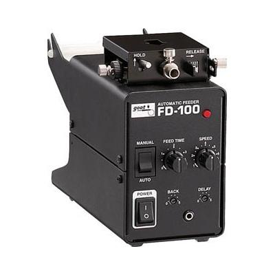 太洋電機産業:グット 鉛フリーはんだ対応・自動はんだ送り装置 FD-100 型式:FD-100