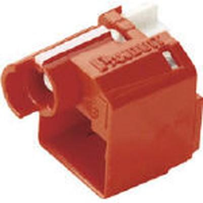 パンドウイットコーポレーション:パンドウイット パッチコードロック 赤 100個入り PSL-DCPLRX-C PSL-DCPLRX-C 型式:PSL-DCPLRX-C(1セット:100個入)