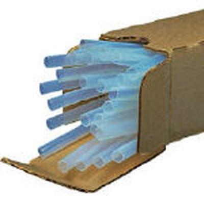 パンドウイットコーポレーション:パンドウイット 熱収縮チューブ テフロン (25本入) HSTTT43-48-Q 型式:HSTTT43-48-Q(1セット:25本入)