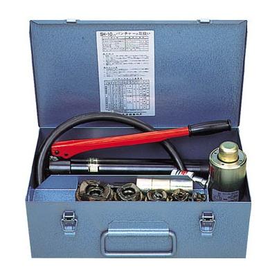 泉精器製作所:泉 手動油圧式パンチャ SH10-1-AP 型式:SH10-1-AP