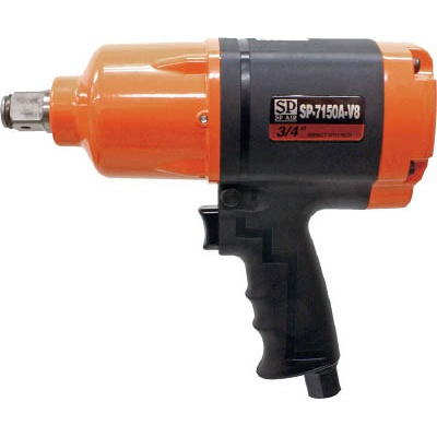 エス.ピー.エアー:SP 軽量インパクトレンチ19mm角 SP-7150A-V8 型式:SP-7150A-V8
