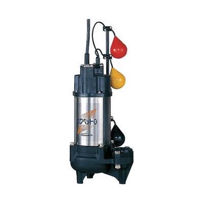 川本製作所:川本 排水用樹脂製水中ポンプ(汚物用) 0.4kw 全揚程9.2m WUO3-505-0.4SLNG 型式:WUO3-505-0.4SLNG