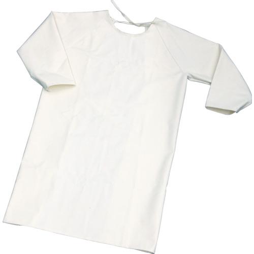 トラスコ中山:TRUSCO 難燃加工綿保護具 袖付前掛け Lサイズ TBK-SMK-L 型式:TBK-SMK-L