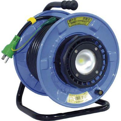 日動工業:日動 防雨・防塵型LEDライトリール SDW-EB22-10W 型式:SDW-EB22-10W