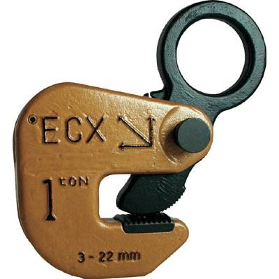 日本クランプ:日本クランプ 横つり専用クランプ 1.0t ECX-1 型式:ECX-1