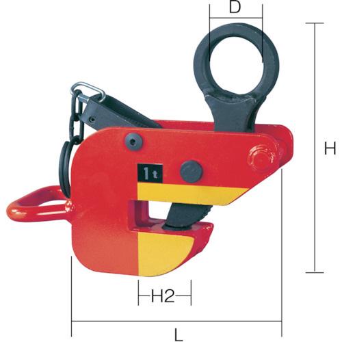 象印チェンブロック:象印 横吊クランプ1Ton HAR-01000 型式:HAR-01000