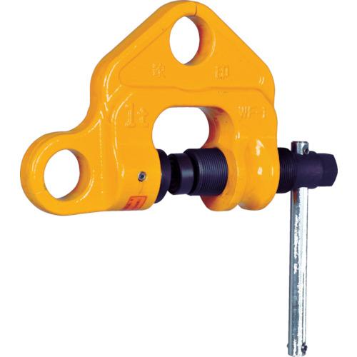 人気上昇中 作業用品 吊りクランプ 吊りベルト 賜物 象印チェンブロック:象印 ねじクランプ0.5t 型式:WF-00500 WF-00500