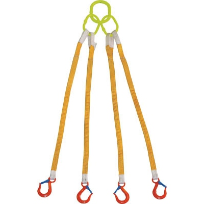 大洋製器工業:大洋 4本吊 インカリフティングスリング 5t用×1.5m 4ILS 5TX1.5 型式:4ILS 5TX1.5