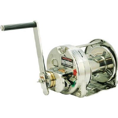 マックスプル工業:マックスプル ステンレス手動ウインチ(電解研磨) ESB-5 型式:ESB-5
