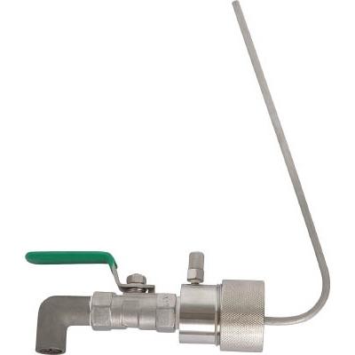 アクアシステム:アクアシステム 一斗缶用SUS製コック (油・オイル・洗剤)40mmタイプ SP-40I 型式:SP-40I