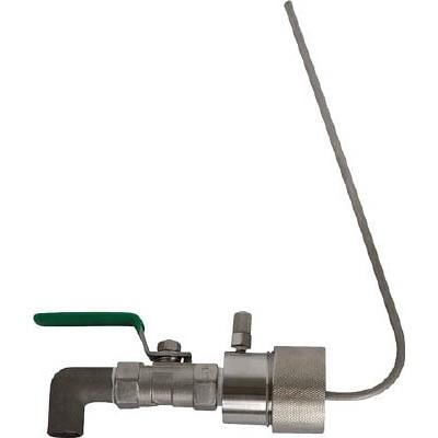 アクアシステム:アクアシステム ペール缶用SUS製コック (油・オイル)40mmタイプ SP-40P 型式:SP-40P