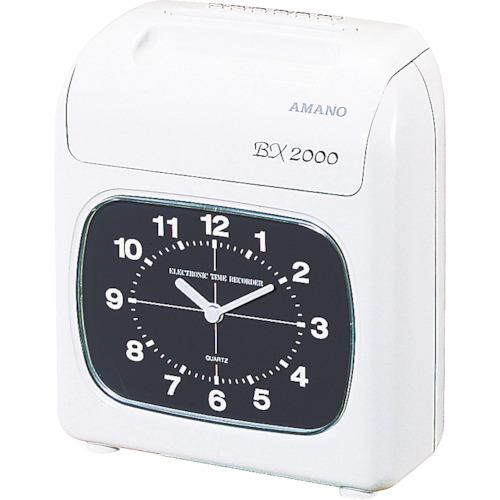 アマノ:アマノ タイムレコーダー BX-2000 型式:BX-2000