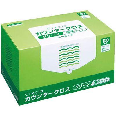 日本製紙クレシア:クレシア カウンタークロス 薄手タイプ 薄手タイプ グリーン グリーン 65412 65412 型式:65412(1セット:600枚入), オオイマチ:2136b818 --- officewill.xsrv.jp