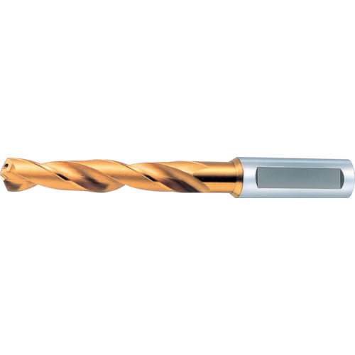 オーエスジー:OSG 一般用加工用穴付き レギュラ型 ゴールドドリル 64145 EX-HO-GDR-14.5 型式:EX-HO-GDR-14.5