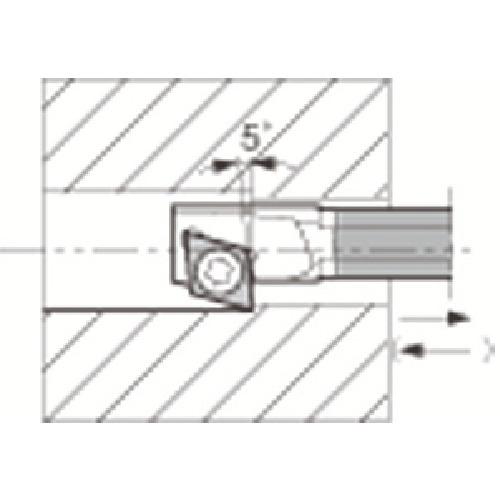 京セラ:京セラ 内径加工用ホルダ C04X-SJZCR03-065 型式:C04X-SJZCR03-065