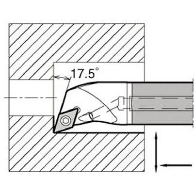 京セラ:京セラ 内径加工用ホルダ E12Q-SDQCR07-16A 型式:E12Q-SDQCR07-16A