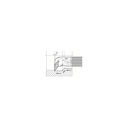 驚きの価格が実現! 内径加工用ホルダ E12Q-SVPBR11-18A 型式:E12Q-SVPBR11-18A:配管部品 店 京セラ:京セラ-DIY・工具