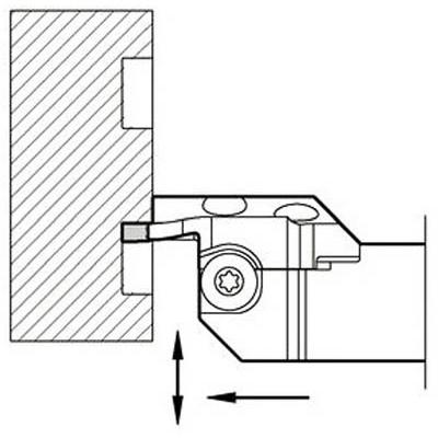 京セラ:京セラ 溝入れ用ホルダ KGDFR2525X35-5CS 型式:KGDFR2525X35-5CS