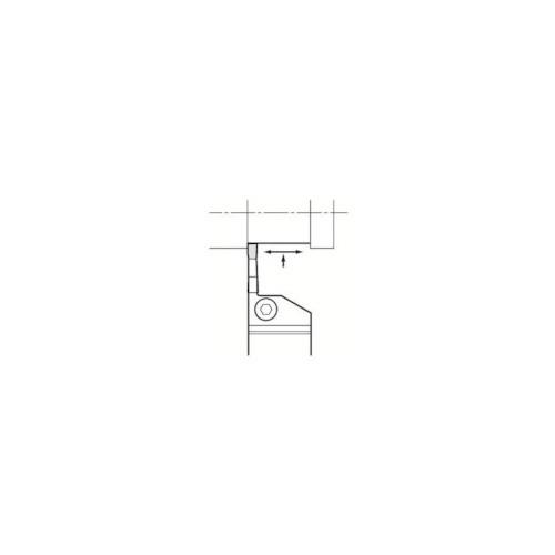 京セラ:京セラ 溝入れ用ホルダ KGDL1616H-2T10 型式:KGDL1616H-2T10