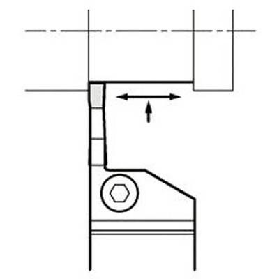 京セラ:京セラ 溝入れ用ホルダ KGDR1616H-3T10 型式:KGDR1616H-3T10