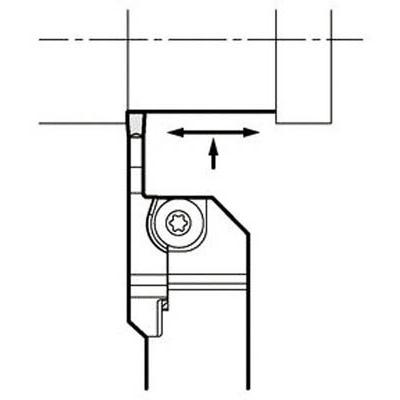 京セラ:京セラ 溝入れ用ホルダ KGDR2525X-2T17S 型式:KGDR2525X-2T17S