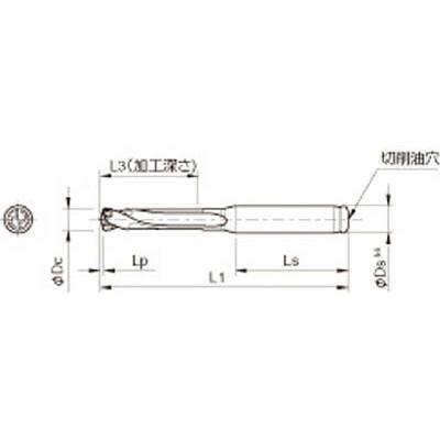 京セラ:京セラ ドリル用ホルダ SS10-DRC080M-3 型式:SS10-DRC080M-3