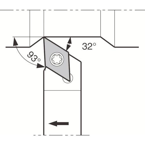 京セラ:京セラ スモールツール用ホルダ SDJCR1616JX-11FF 型式:SDJCR1616JX-11FF