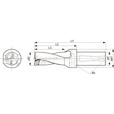 京セラ:京セラ ドリル用ホルダ S25-DRZ1632-06 型式:S25-DRZ1632-06