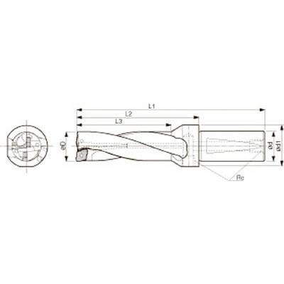 京セラ:京セラ ドリル用ホルダ S40-DRZ48144-15 型式:S40-DRZ48144-15