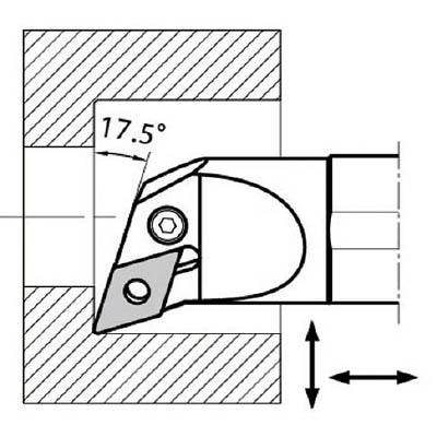京セラ:京セラ 内径加工用ホルダ S32S-PDUNL15-44 型式:S32S-PDUNL15-44