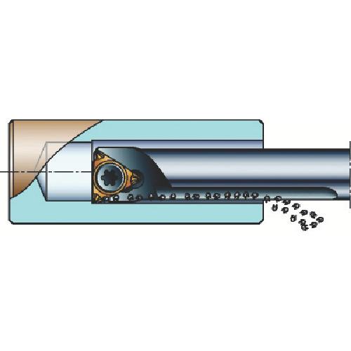 サンドビック:サンドビック コロターン107 ポジチップ用ボーリングバイト A06F-STUCR05-GR 型式:A06F-STUCR05-GR