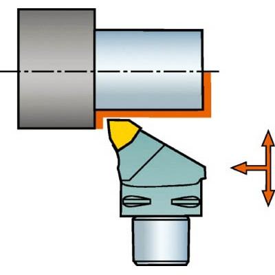 サンドビック:サンドビック コロマントキャプト コロターンRC用カッティングヘッド C5-DWLNR-35060-08 型式:C5-DWLNR-35060-08