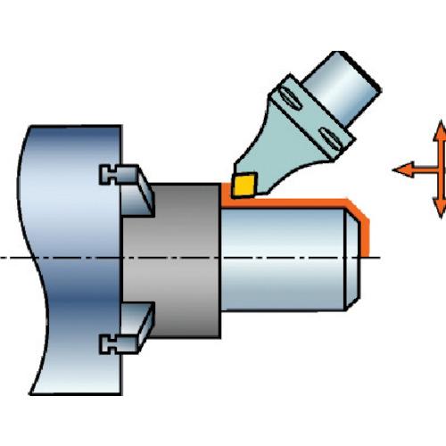 サンドビック:サンドビック コロマントキャプト コロターンRC用カッティングヘッド C6-DCMNN-00115-12 型式:C6-DCMNN-00115-12