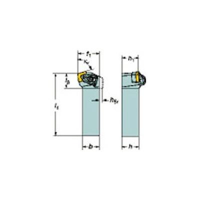 サンドビック:サンドビック コロターンRC ネガチップ用シャンクバイト DCKNL 2525M 12 型式:DCKNL 2525M 12