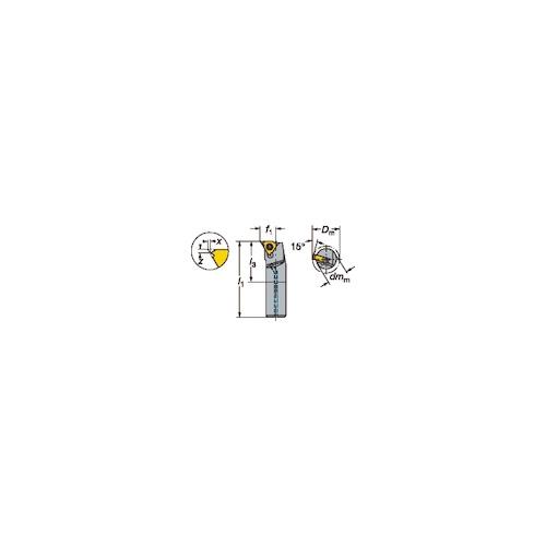 サンドビック:サンドビック T-Max U-ロック ねじ切りボーリングバイト R166.0KF-12E-11 型式:R166.0KF-12E-11