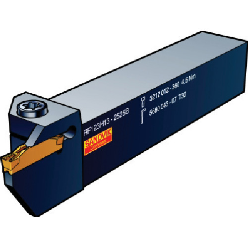 サンドビック:サンドビック コロカット1・2 突切り・溝入れ用シャンクバイト LF123G12-2020B-034B 型式:LF123G12-2020B-034B