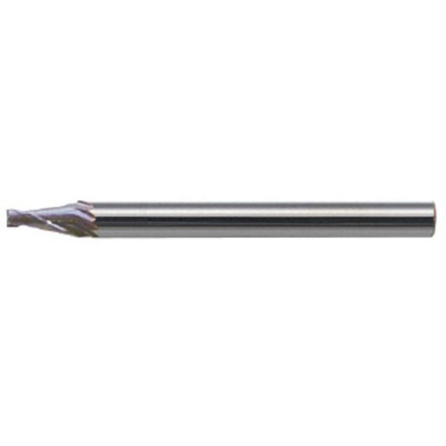 ユニオンツール:ユニオンツール 超硬エンドミル テーパ φ0.2×片角 2° CCTE20024 型式:CCTE20024