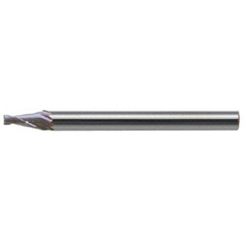 ユニオンツール:ユニオンツール 超硬エンドミル テーパ φ1.5×片角 10° CCTE201520 型式:CCTE201520