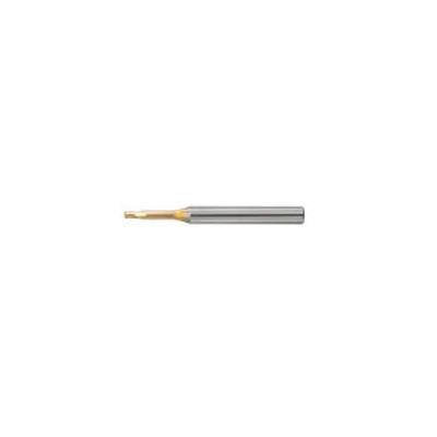 ユニオンツール:ユニオンツール 超硬エンドミル ロングネックラジアス φ6XR0.2×有効長12 HLRS 2060-02-120E 型式:HLRS 2060-02-120E