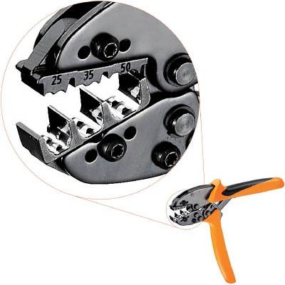 日本ワイドミュラー:ワイドミュラー 圧着工具 PZ 50 25~50sqmm 9006450000 型式:9006450000
